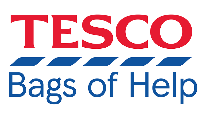Image result for tesco bags of help logo