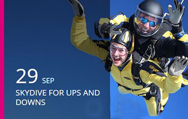 Sky Dive for Ups and Downs Southwest