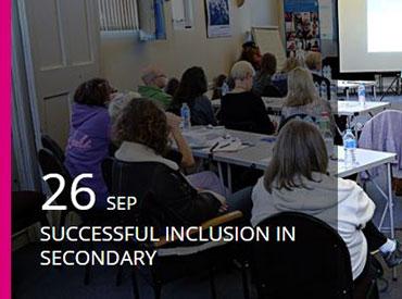 Successful Inclusion in Secondary School 2018