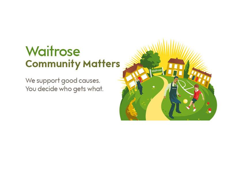 Winning with Waitrose - Waitrose Community Matters Logo