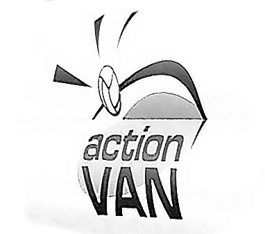 Action Van Logo for Dorset Council Ball Skills