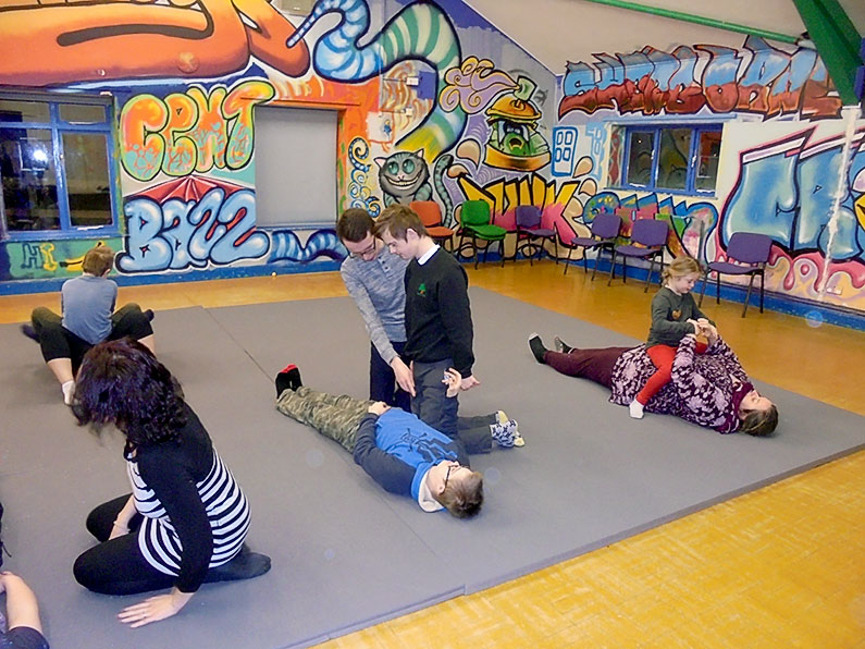 Adaptive Martial Arts Sherborne Youth Club Ups and Downs Southwest