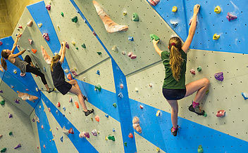 Climbing Wall Fun - Oxleys Sports Centre - Ups and Downs Southwest