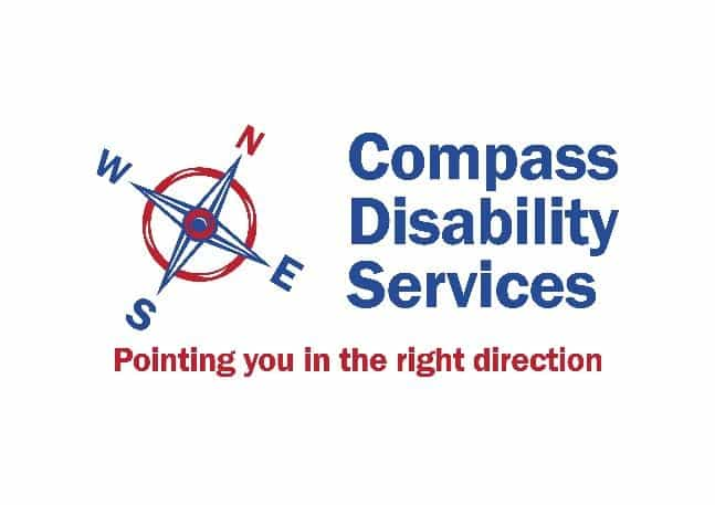 Wellbeing Course for Parents and Carers -Compass Disability Logo - Ups and Downs Southwest