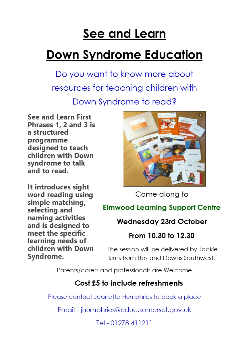 See and Learn Down Syndrome Education