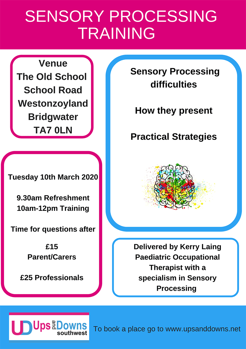 Sensory Processing Training Ups and Downs Southwest