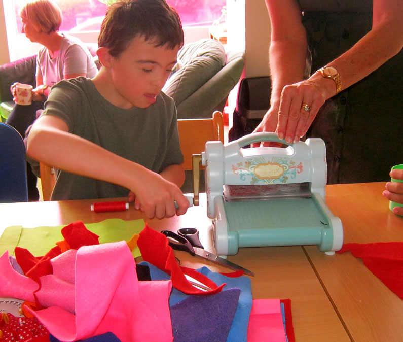 Sewing Workshop - Weston-super-Mare Youth Club - Ups and Downs Southwest