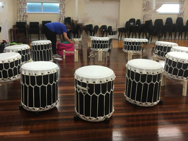Taiko Drumming - Sherborne Youth Club