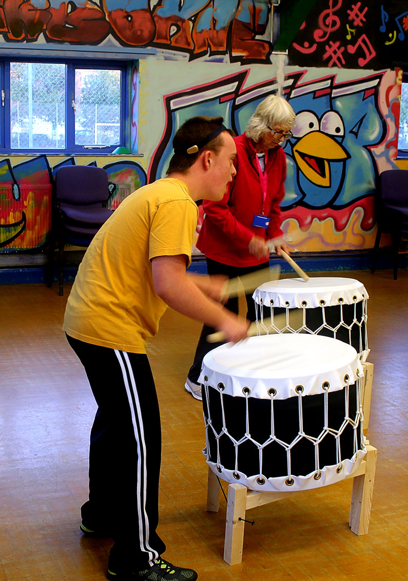 Taiko Drumming - Ups and Downs Southwest
