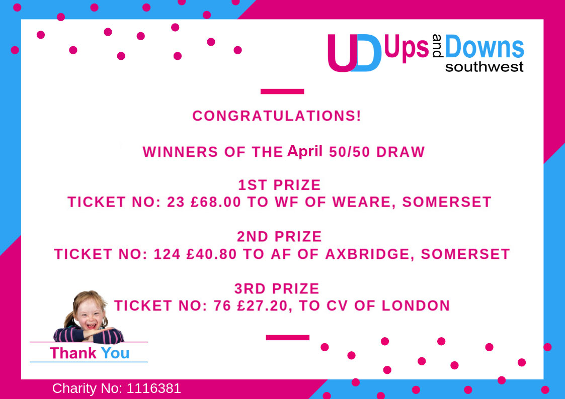 March 20 19 Little Lotto 50-50 club Winners Ups and Downs Southwest