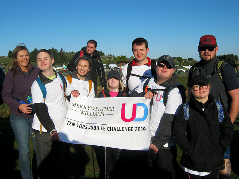 Ten Tors Jubilee Challenge 2020 - Ups and Downs Southwest The 2019 Team