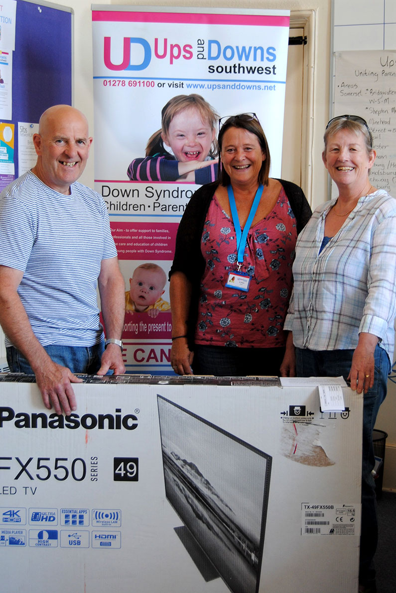 Congratulations to Rob and Bridget Dickinson - Grand Prize Draw Winners Ups and Downs Southwest