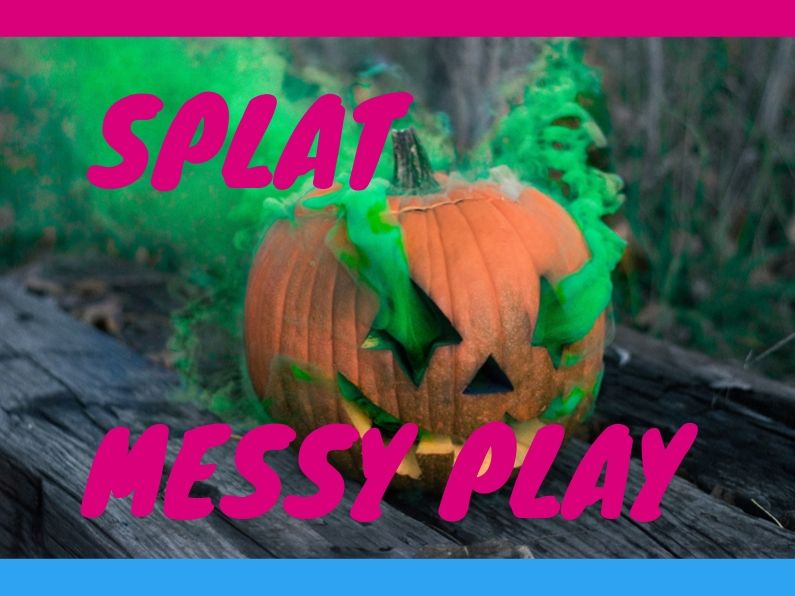 Splat Messy Play Ups and Downs Southwest Weston-super-Mare Youth Club