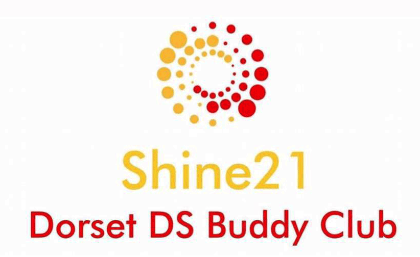 Shine 21 Dorset Down Syndrome Buddy Club Logo