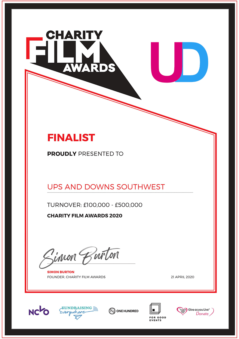 Charity Film Awards Thank You | This Is Me | Ups and Downs Southwest