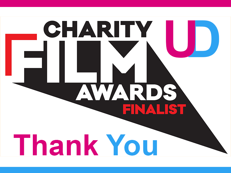 Charity Film Awards Thank you