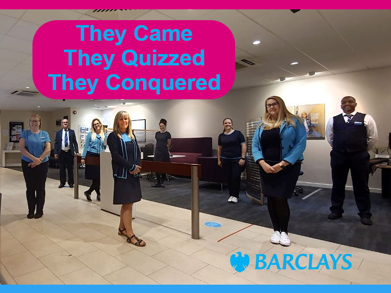 They Came They Quizzed They Conquered