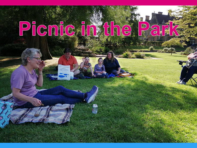Picnic in the Park Sherborne Youth Club