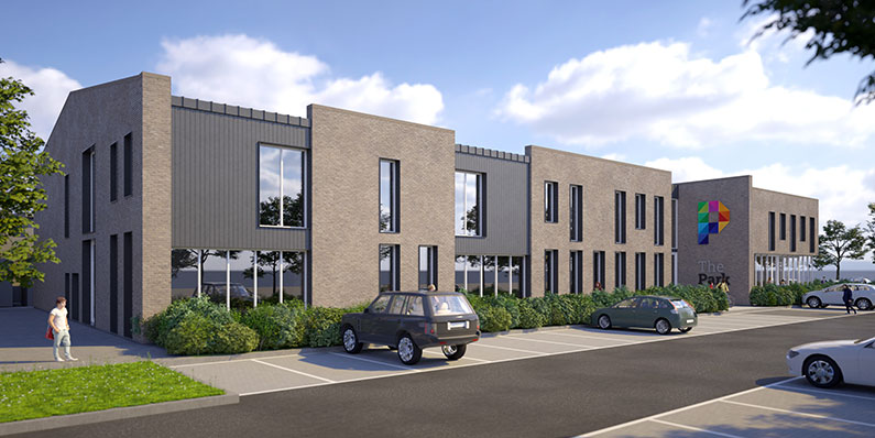 The Park Community Centre Artists Impression of New Build