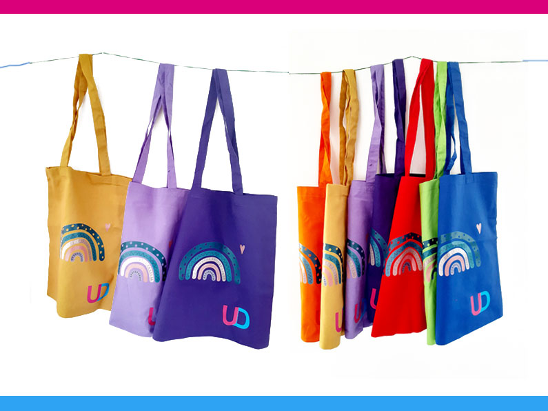 Canvas Tote Bags 7 colours