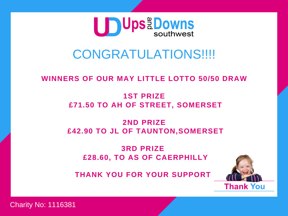 5050 Winners May 2021 Little Lotto Ups and Downs Southwest